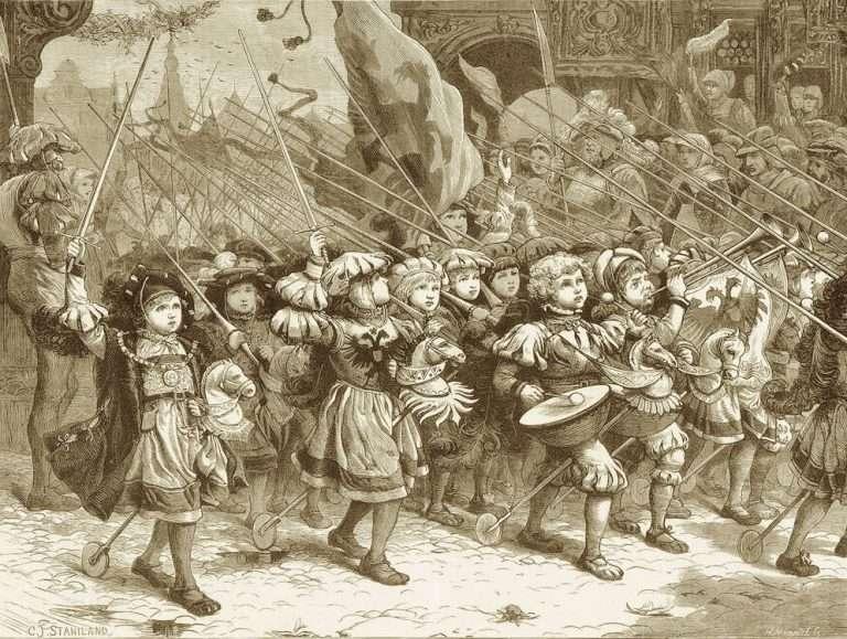 Υπήρχαν πάμπτωχα παιδιά που τα κυνηγούσε η πείνα και ήταν τα περισσότερα, αλλά και αρχοντόπουλα με τα άλογά τους, μαζί με αλητάκια, καθώς ακόμα και ανήλικους ιερείς.