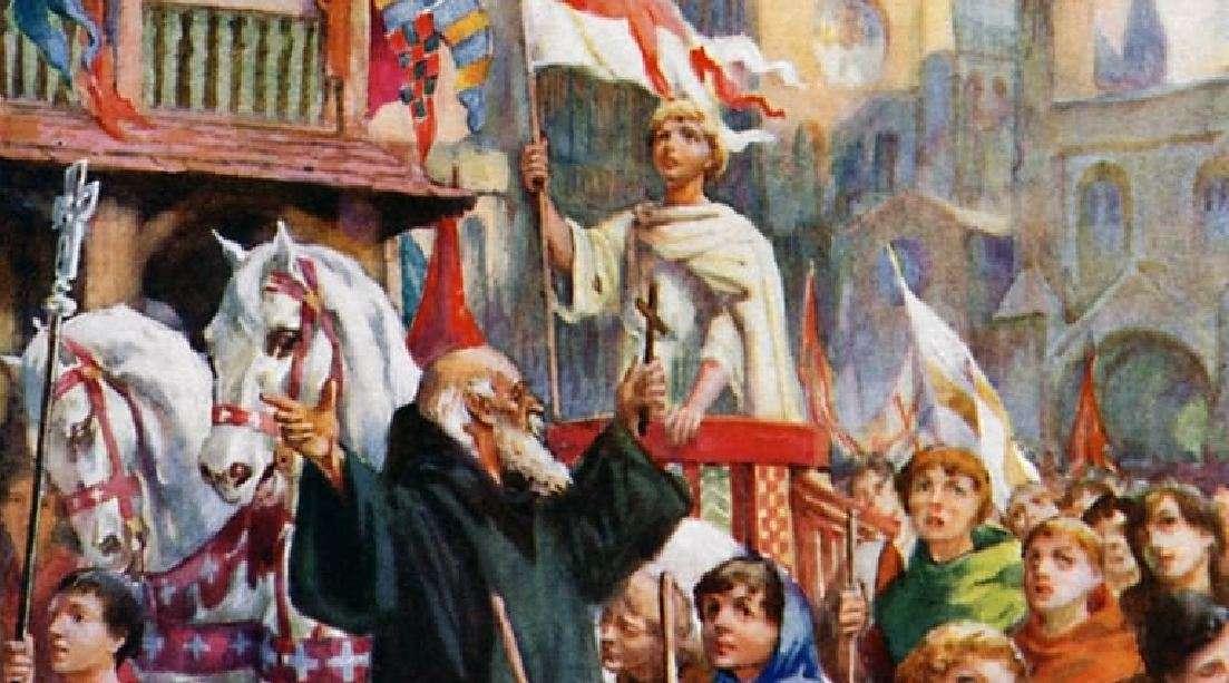 Οι Σταυροφορίες των παιδιών στις αρχές του 13ου αιώνα, ήταν ίσως η πιο χαρακτηριστική ένδειξη της έκφρασης της Πίστης στον Μεσαίωνα.
