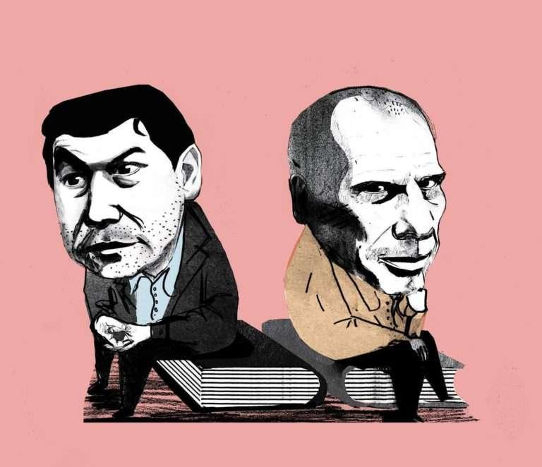 Τομά Πικετύ και Γιάννης Βαρουφάκης