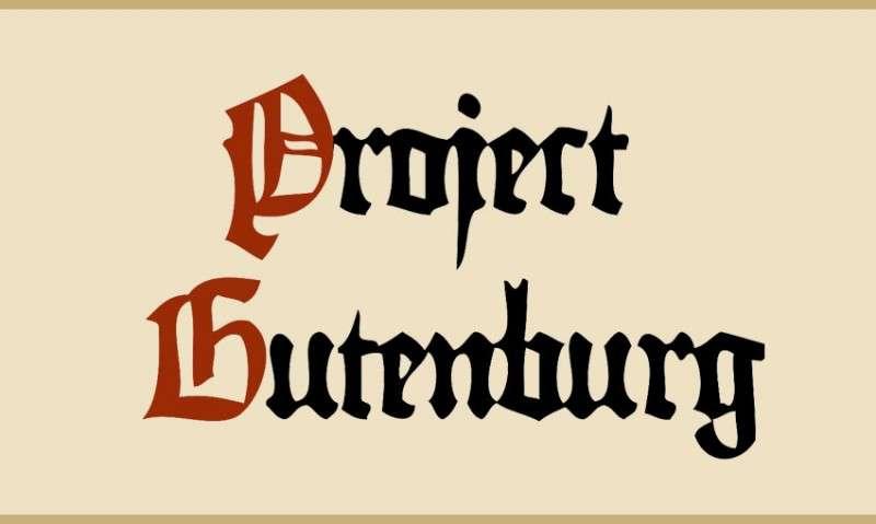 Δωρεάν ελληνικά ηλεκτρονικά βιβλία (free greek ebooks): Project Gutenberg
