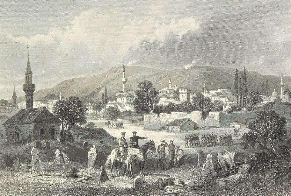 Ρώσοι στρατιώτες στη Βουλγαρία. 1877.