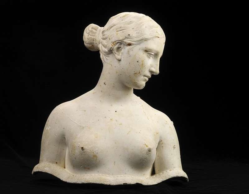 Ελληνίδα σκλάβα. Greek Slave. Smithsonian American Art Museum and its Renwick Gallery.