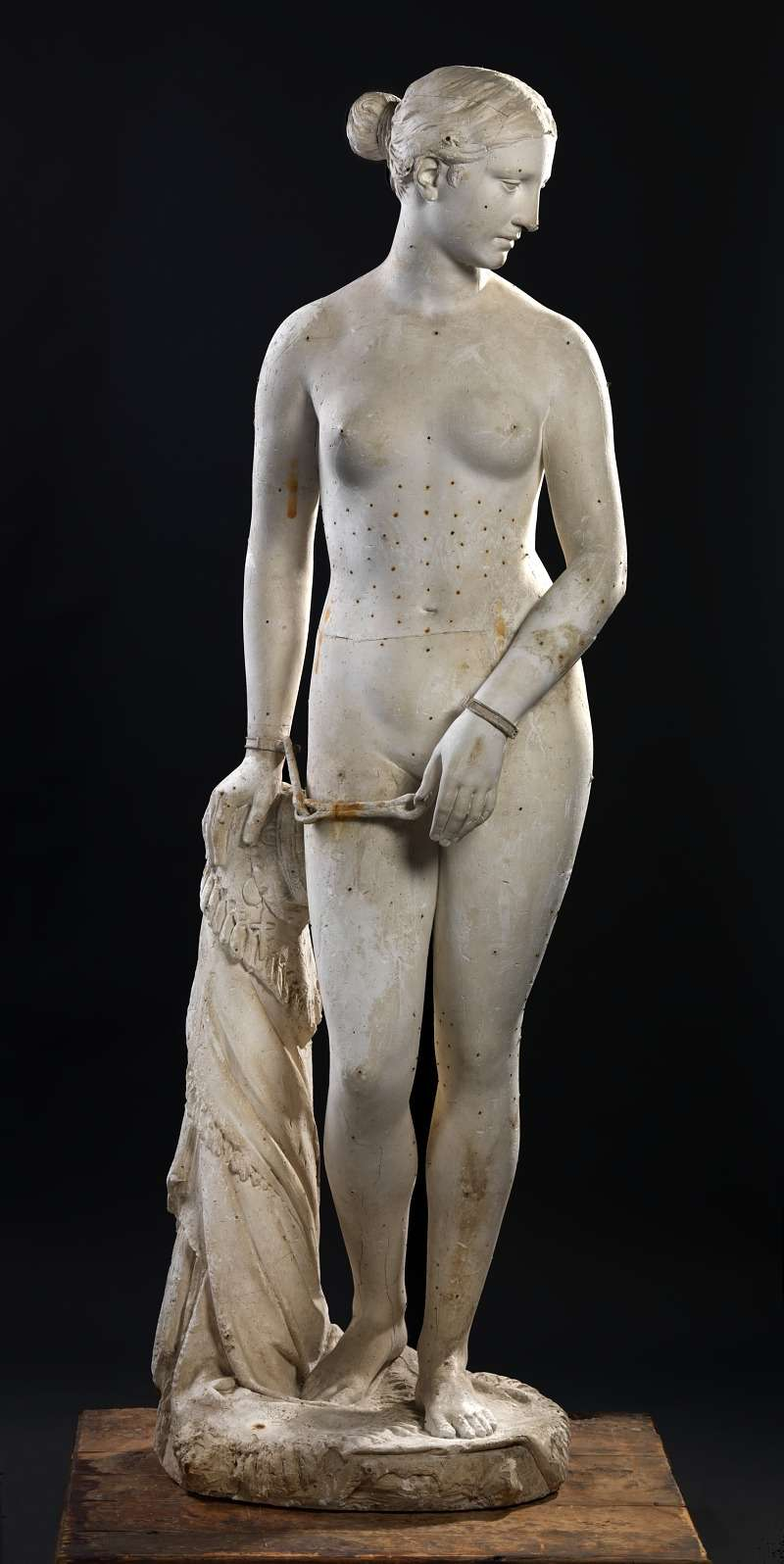 Ελληνίδα σκλάβα. Greek Slave. Smithsonian American Art Museum and its Renwick Gallery.
