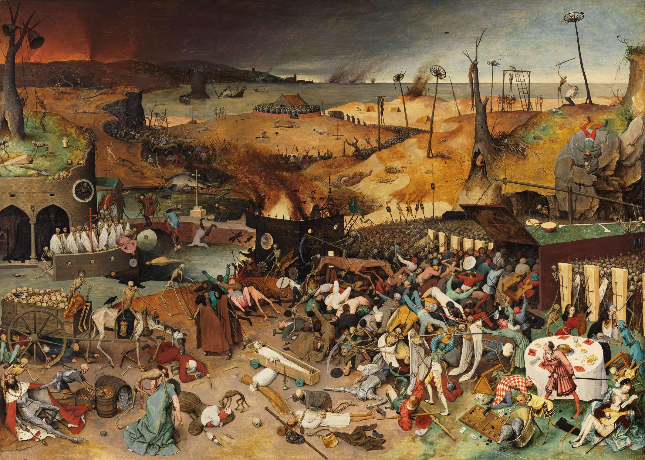 Πίτερ Μπρίγκελ ο πρεσβύτερος. Pieter Bruegel's, The Triumph of Death (1562).