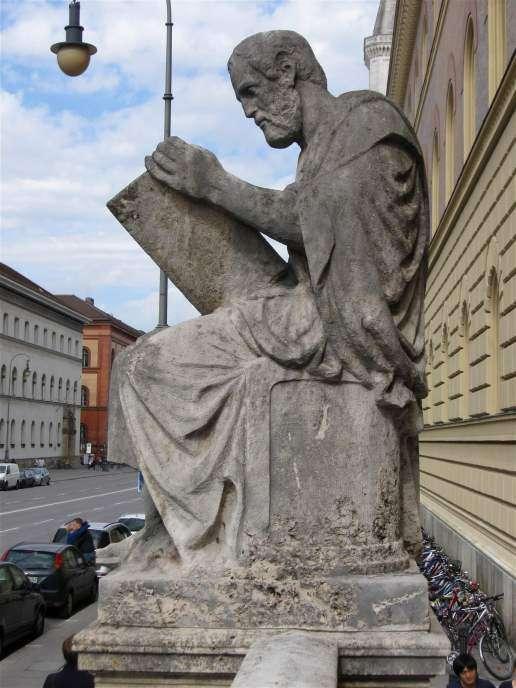 Άγαλμα του Θουκυδίδη. Κρατική Βιβλιοθήκη Μονάχου