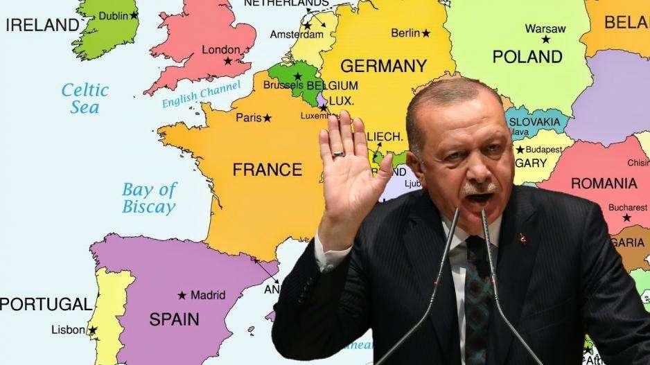 Πολύ συχνά ο Ταγίπ Ερντογάν βάζει στο στόχαστρο συλλήβδην την Δύση, κατηγορώντας την για τα εγκλήματα της αποικιοκρατίας, τις σταυροφορίες κ.ο.κ. Ακόμα και η προπαγάνδα εναντίον της Ελλάδας, στο πλαίσιο του υβριδικού πολέμου που έχει εξαπολύσει σε Έβρο και Ανατολικό Αιγαίο, δεν απευθύνεται στην κοινή γνώμη της Ευρώπης και των ΗΠΑ.