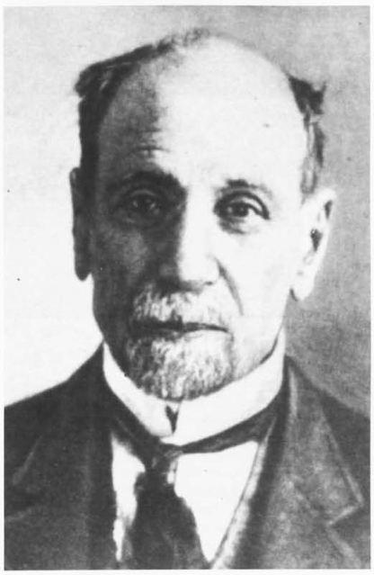 Ο Παύλος Καρολίδης (1849 - 26 Ιουλίου 1930)