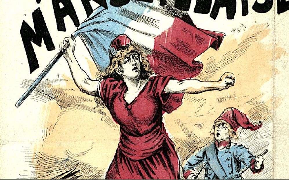 Η Μασσαλιώτιδα (γαλλικά La Marseillaise - Λα Μαρσεγιέζ) είναι ο εθνικός ύμνος της Γαλλικής Δημοκρατίας. Η σύνθεση του ύμνου ανήκει στον αξιωματικό του γαλλικού στρατού (του μηχανικού) Ρουζέ ντε Λιλ (Claude Joseph Rouget de Lisle) ή, ελληνοποιημένα, Κλαύδιου Ιωσήφ Ρουζέ Ντελίλ. Γράφτηκε στο Στρασβούργο την νύκτα της κήρυξης του πολέμου μεταξύ Γαλλίας και Αυστρίας 17 Απριλίου 1792.