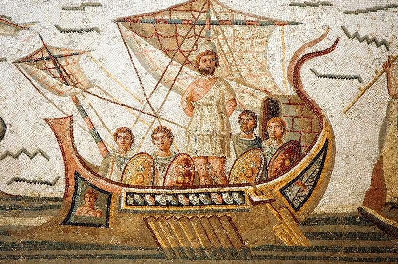 Ομήρου Οδύσσεια. Homer's Odyssey.