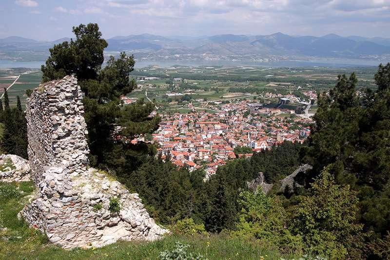 Το «Κάστρο» κατασκευάστηκε πιθανότητα τον 6ο με 7ο μ.Χ. αιώνα. Στα τέλη του 10ου αιώνα το «Κάστρο» των Σερβίων καταλαμβάνεται από το Βούλγαρο τσάρο Σαμουήλ, ενώ το 1001 ανακαταλαμβάνεται από τον Βασίλειο Β'. Το 1204 τα Σέρβια καταλαμβάνονται από τους Φράγκους, ενώ το 1216 περιέρχονται στην κατοχή του Δεσπότη της Ηπείρου Θεοδώρου Δούκα.
