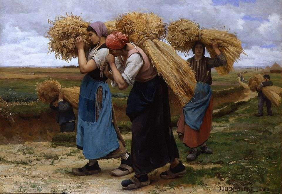 Αγρότισσες. Julien Duprè 1851-1910.