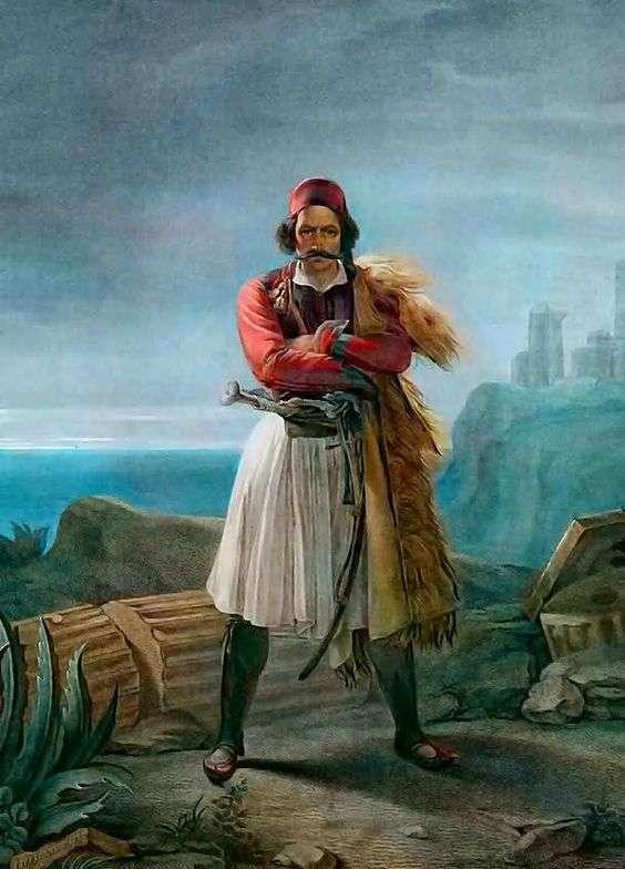 Λουντοβίκο Λιπαρίνι: «O Κλέφτης». Ludovico Lipparini: A Klepht.