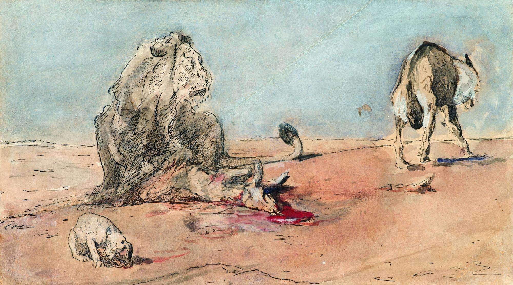 «Κυρά αλεπού, ποιος σ' έμαθε να μοιράζεις; Η συμφορά του λύκου.»