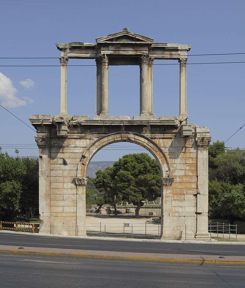 Η Πύλη του Αδριανού (ή Αψίδα του Αδριανού), είναι μνημειώδης πύλη που μοιάζει - σύμφωνα με ορισμένες απόψεις - με Ρωμαϊκή θριαμβική αψίδα.