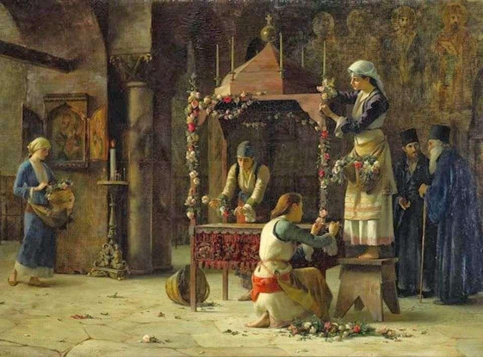 Ο Επιτάφιος. Θεόδωρος Ράλλης (1852-1909).
