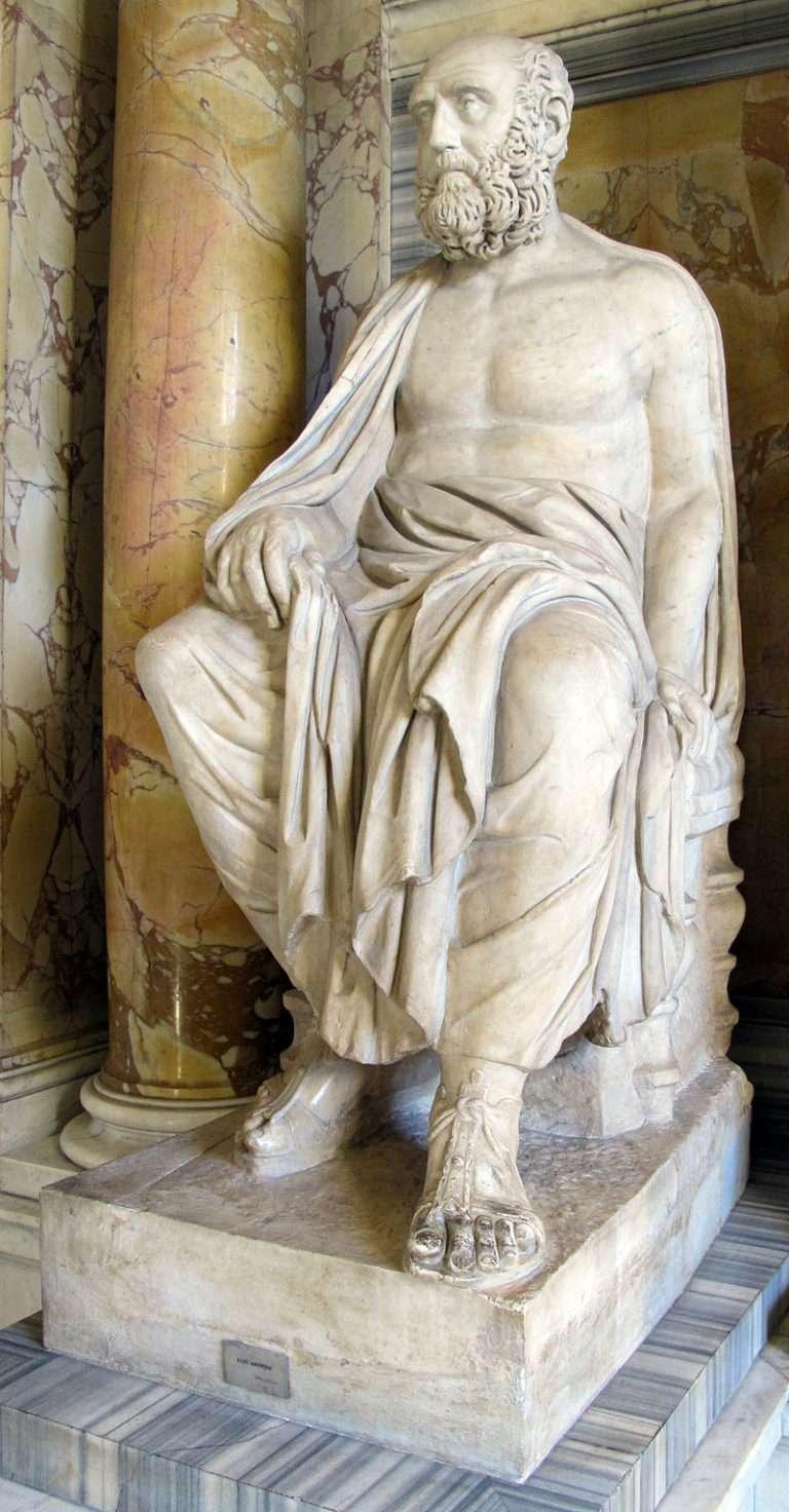 Ο Πόπλιος Αίλιος Αριστείδης Θεόδωρος[4] ήταν επιφανής σοφιστής, ρήτορας της εποχής του και εκπρόσωπος της δεύτερης σοφιστικής[. Γεννήθηκε περίπου το 117[5] και πέθανε το 189 ή 199 μ.Χ.