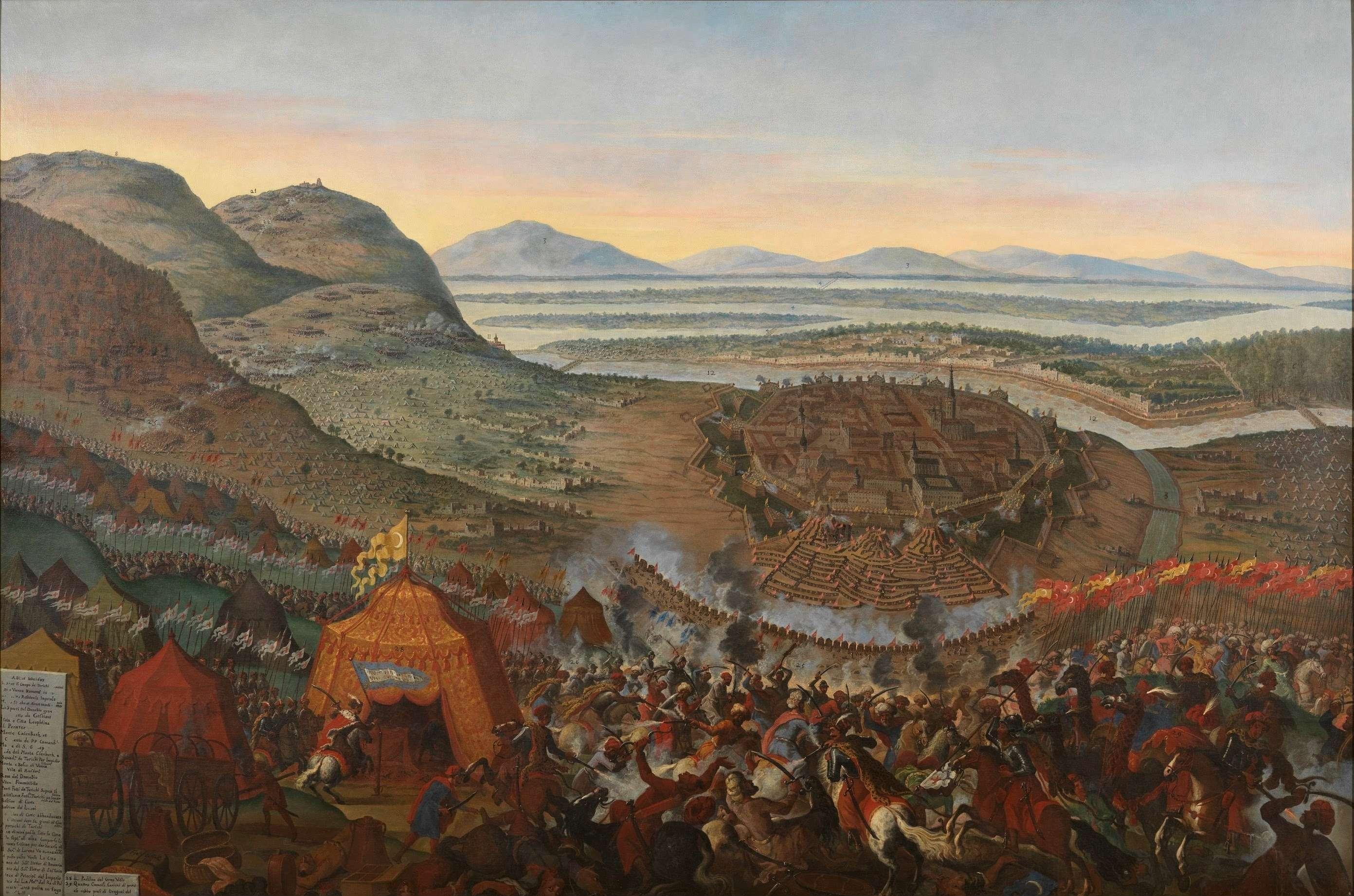 Η δεύτερη πολιορκία της Βιέννης από τους Τούρκους ήταν σημαντικός σταθμός στην γεωπολιτική εξέλιξη της Ευρώπης. Η Βιέννη πολιορκήθηκε από τους Τούρκους και γλύτωσε κυριολεκτικά την τελευταία στιγμή ως από θαύμα, ενώ η επίθεση των Ουσάρων του Γιάν Σομπιέσκι απέκρουσε τους Οθωμανούς και τους έτρεψε σε φυγή.