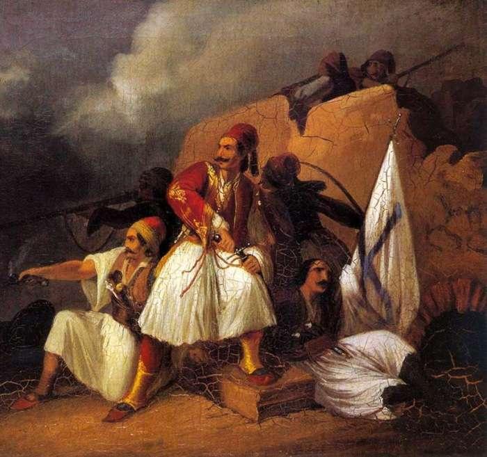 Θεόδωρος Βρυζάκης. Πολεμική σκηνή.