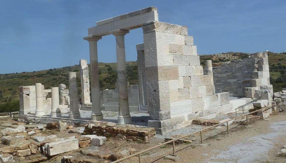 Νάξος. «Ο ναός της Δήμητρας». Άγνωστη αρχαία Ελλάδα.