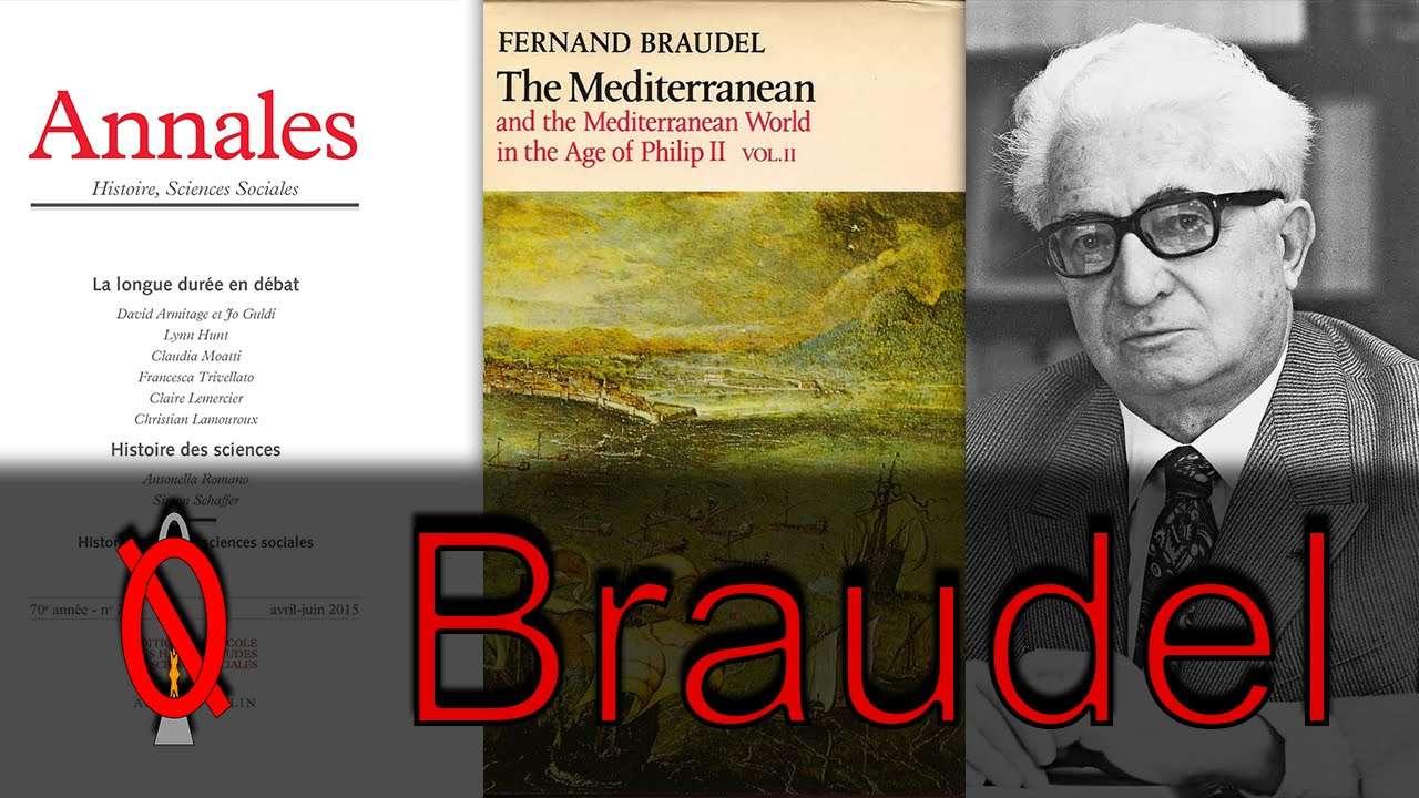 Ο ιστορικός Fernard Paul Achille Braudel (1902-1985), αναδείχθηκε σε ηγετική φυσιογνωμία της Σχολής των Annales, σηματοδότησε και προσδιόρισε την πορεία της από το 1948 ως το 1964, χρονικό διάστημα που διηύθυνε και το περιοδικό της.
