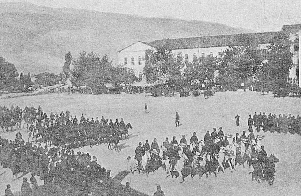 Οθωμανικός στρατός στα Γιάννενα, 1897. Πηγή: Ottoman Imperial Archives.