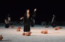 «Οιδίπους Τύραννος» σε σκηνοθεσία Κωνσταντίνου Μαρκουλάκη - Η γενική πρόβα.