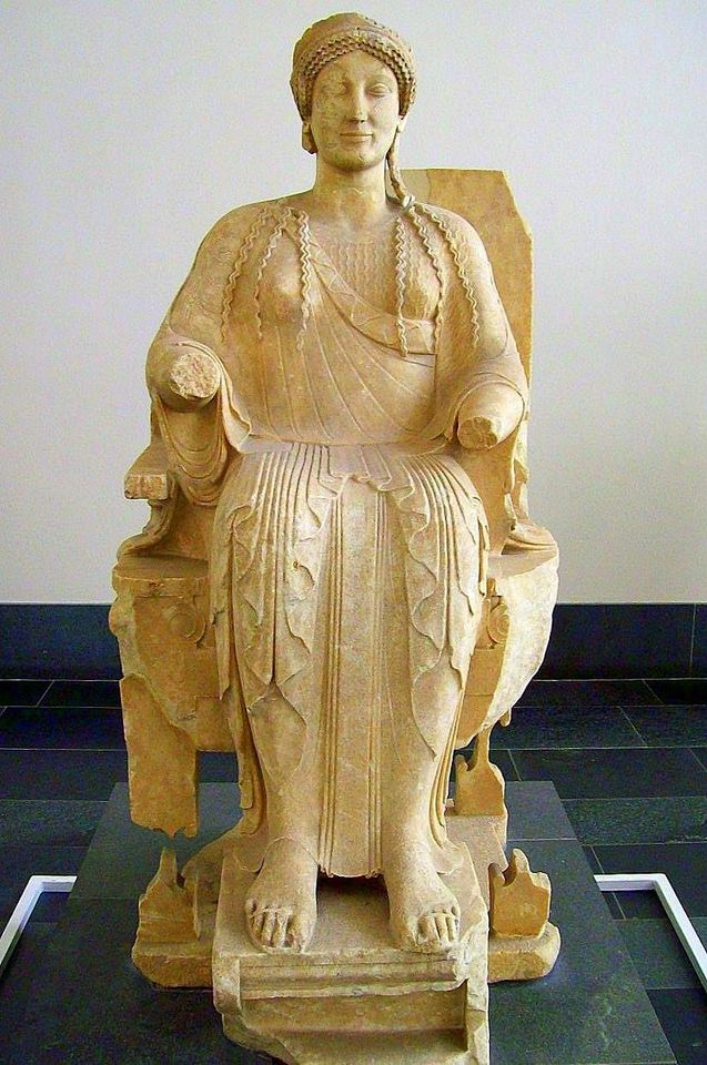 Η Περσεφόνη, Μουσείο Περγάμου, Βερολίνο, 480 π.Χ.