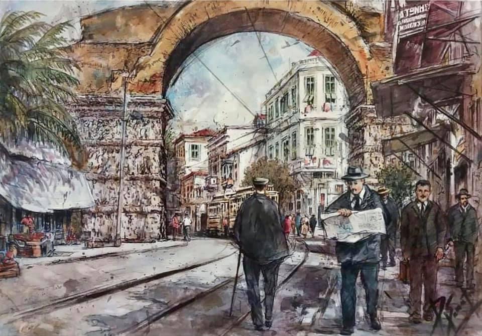 Δημήτρης Σταματίου. Η «Καμάρα» στη Θεσσαλονίκη.