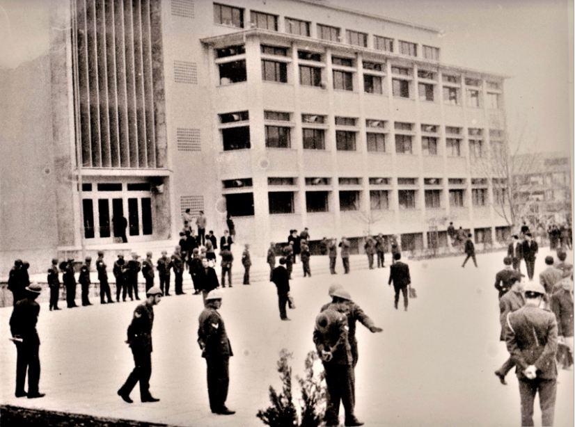 Θεσσαλονίκη, 1962-63. Πλατεία Χημείου