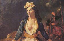 Η Ελλάδα στα ερείπια του Μεσολογγίου (γαλλ. La Grèce sur les ruines de Missolonghi) είναι πίνακας του Γάλλου ζωγράφου Ευγένιου Ντελακρουά εμπνευσμένο από την μάχη των Ελλήνων στην τρίτη πολιορκία του Μεσολογγίου.