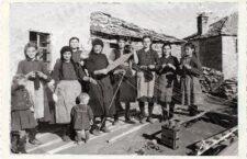 Λιβαδερό Κοζάνης, δεκαετία 1950.