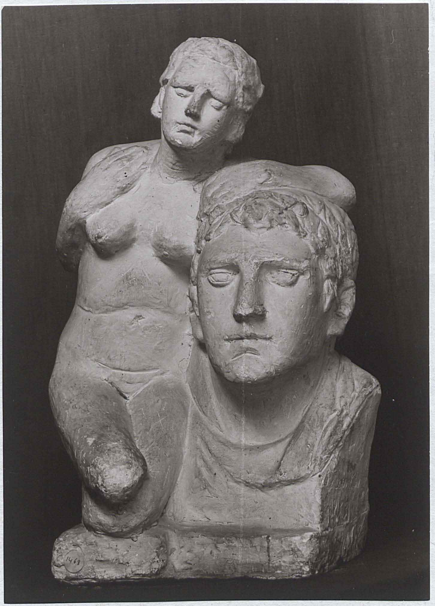 Γιαννούλης Χαλεπάς. «Σκέψις» Εθνική Πινακοθήκη Αθηνών. Φωτογραφικό αρχείο.