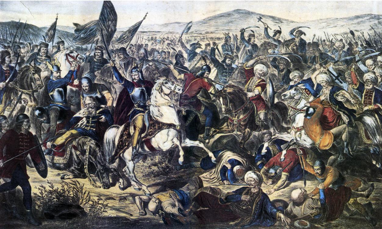 Μάχη του Κοσσυφοπεδίου, του Ανταμ Στεφάνοβιτς (1870).