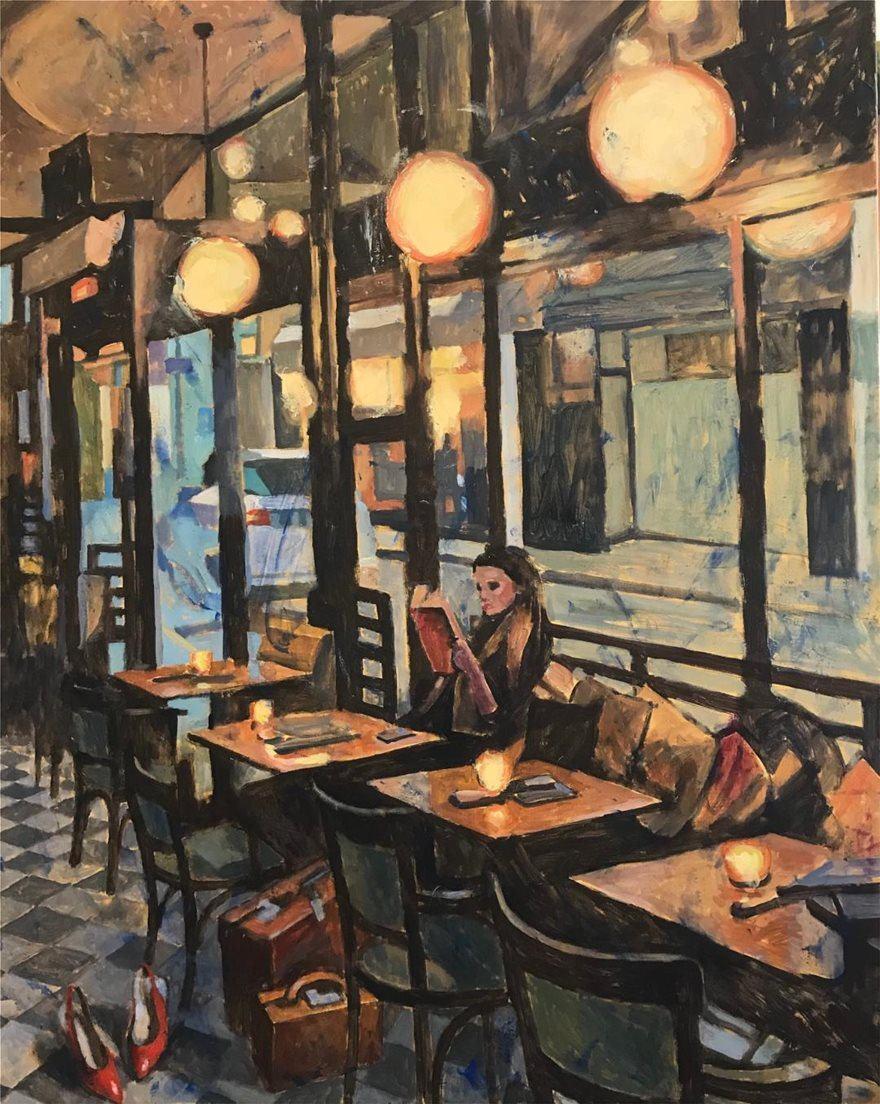 Παύλος Σάμιος. Καφενείο.