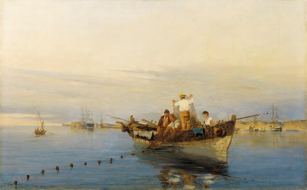 Ο Κωνσταντίνος Βολανάκης ή Βολονάκης (Ηράκλειο Κρήτης, 17 Μαρτίου 1837 - Πειραιάς, 29 Ιουνίου 1907) ήταν ένας από τους σημαντικότερους Έλληνες ζωγράφους του 19ου αιώνα. Θεωρείται ο «πατέρας της ελληνικής θαλασσογραφίας».